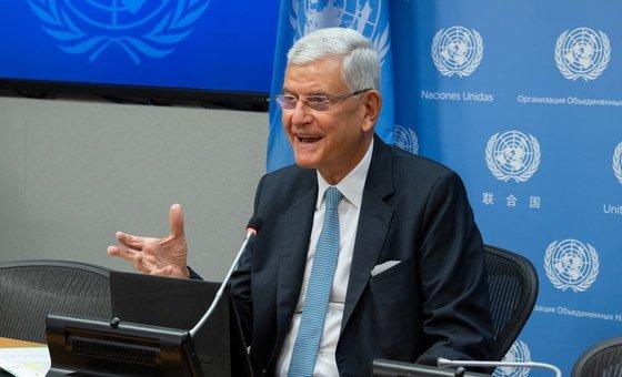 Волкан Бозкыр, Председатель 75-й сессии Генеральной Ассамблеи ООН.
