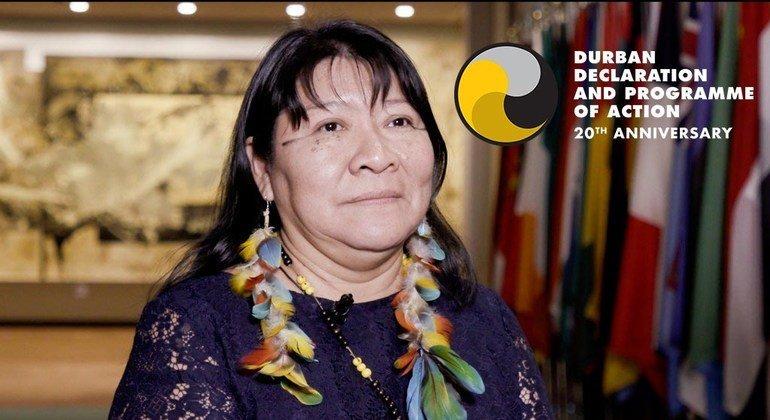 Joenia Wapixana, activist for the rights of indigenous people in Brazil