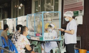 Village and community health volunteers are the eyes and ears of Thailand's disease control system, contributing greatly to the country's effective COVID-19 response.