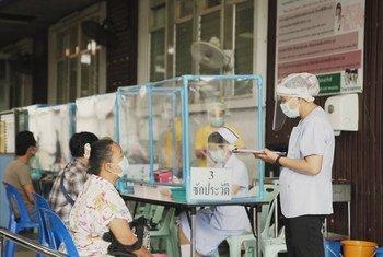 bénévoles participant à la réponse contre la Covid-19 en Thaïlande