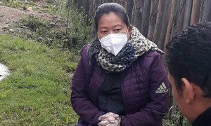 Pema is a psychosocial volunteer with the UN Population Fund (UNFPA) in Bhutan.