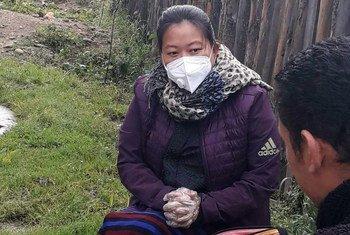 पेमा भूटान में संयुक्त राष्ट्र जनसंख्या कोष (UNFPA) के साथ एक मनोवैज्ञानिक स्वेच्छा सेवी हैं.