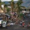 फ़िलीपीन्स के अलबे प्रान्त में चक्रवाती तूफ़ान गोनी से भारी तबाही हुई. (फ़ाइल)