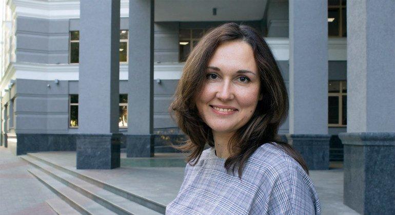Светлана Колышко, координатор группы ПРООН по правам человека на Украине