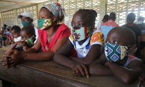 Des réfugiés de Côte d'Ivoire - octobre 2020.