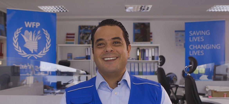 رئيس بعثة برنامج الأغذية العالمي في ليبيا، سامر عبد الجابر.