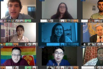 L'ONU  a réuni lors d'une plénière virtuelle, des jeunes du monde entier pour discuter de l'avenir.