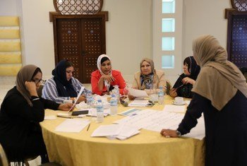 """فعاليات ندوة خصصتها بعثة الأمم المتحدة للدعم في ليبيا، """"لمواجهة خطاب الكراهية والتحريض والتضليل"""""""