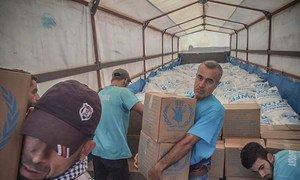 La ONU ha entregado ayuda humanitaria a millones de civiles en Siria durante seis años a través de la frontera del país con Turquía.