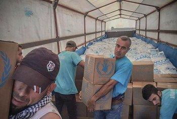 A ONU entrega ajuda na Síria, através da fronteira com outros países, há seis anos