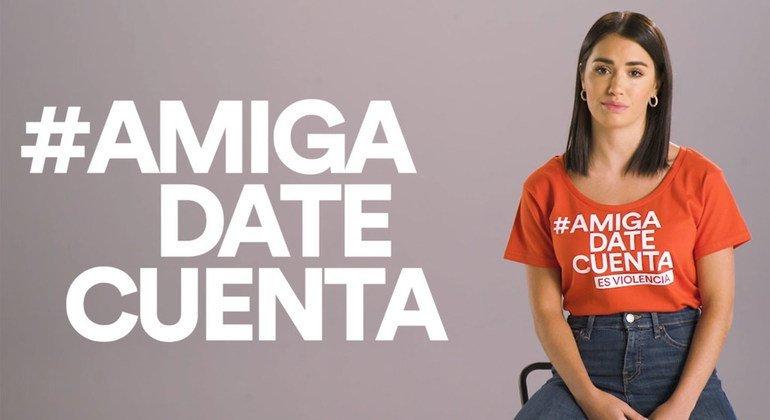 La actriz y cantante, Lali Esposito, ayuda en la Iniciativa Spotlight contra la violencia de género en Argentina.