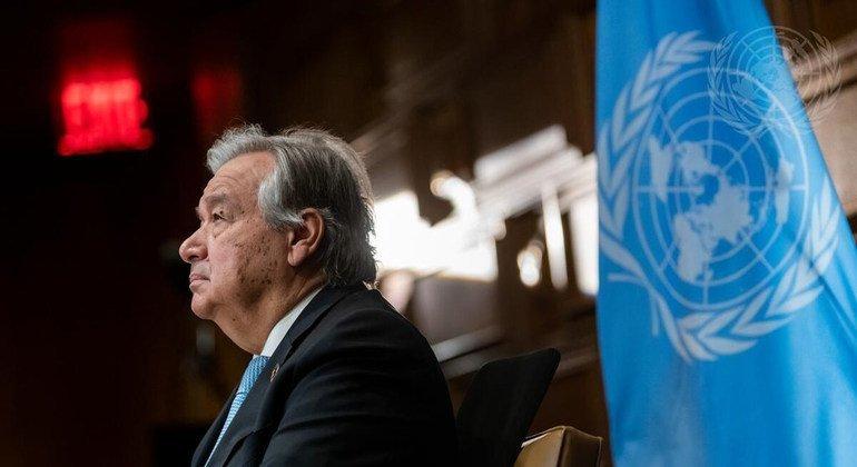 एंतोनियो गुटेरेश, महासचिव के दूसरे कार्यकाल के लिये उम्मीदवार