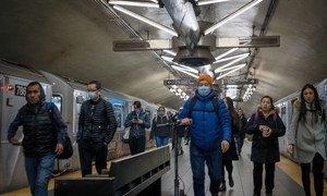 Le nombre de voyageurs à New York a diminué après les mesures de télétravail prises par de nombreux employeurs.