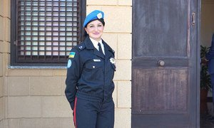 Оксана Зубец, сотрудница Миссии ООН на Кипре