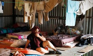 Persecuted Nicaraguans flee to Costa Rica in search of international protection.
