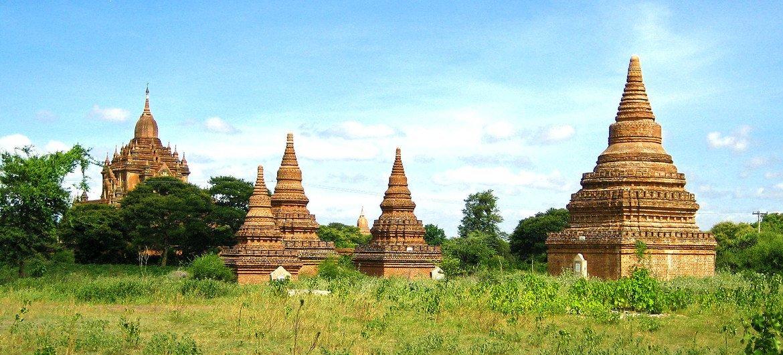 缅甸历史悠久的古都蒲甘。