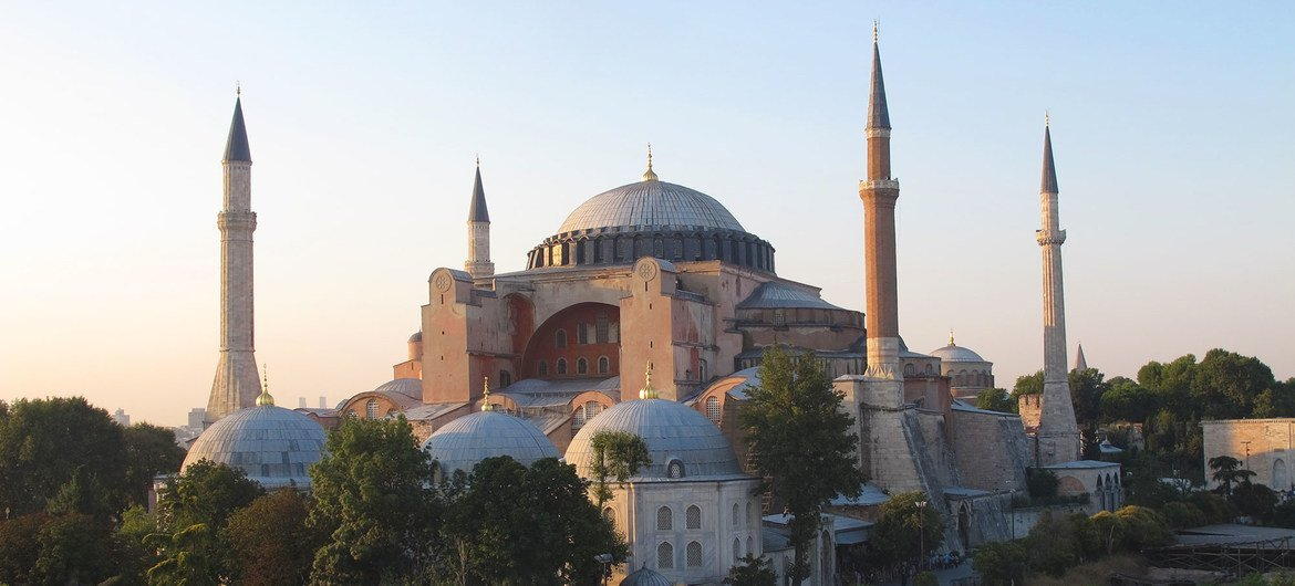 UNESCO expresses deep regret over Turkey decision to change status of  historic Hagia Sophia | | UN News