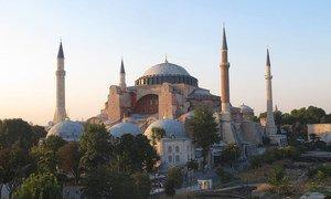 Governo do presidente Recep Tayyip Erdogan quer transformar o Museu Hagia Sophia numa mesquita.