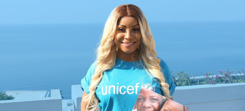 Embaixadora da Boa Vontade do Unicef, Neyma contou que a inspiração para a música foi a vontade de sensibilizar.