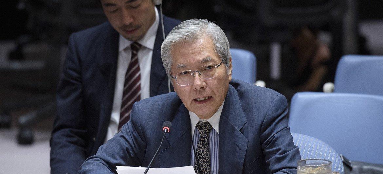 Спецпредставитель ООН по Афганистану Тадамичи Ямамото выступил в Совбезе ООН.