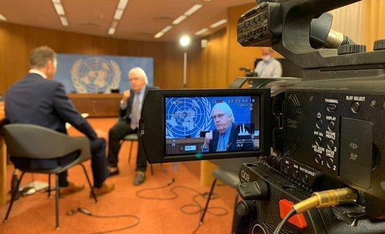 संयुक्त राष्ट्र के आपातकालीन राहत मामलों के समन्वयक, मार्टिन ग्रिफ़िथ ने अफ़ग़ानिस्तान के लोगों की ज़रूरतों पर एक महत्वपूर्ण अन्तरराष्ट्रीय सम्मेलन से पहले यूएन न्यूज़ के साथ बातचीत की.