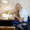 En Moldova, Dmitry Kuzuk a perdu l'usage de ses deux jambes après un accident de voiture
