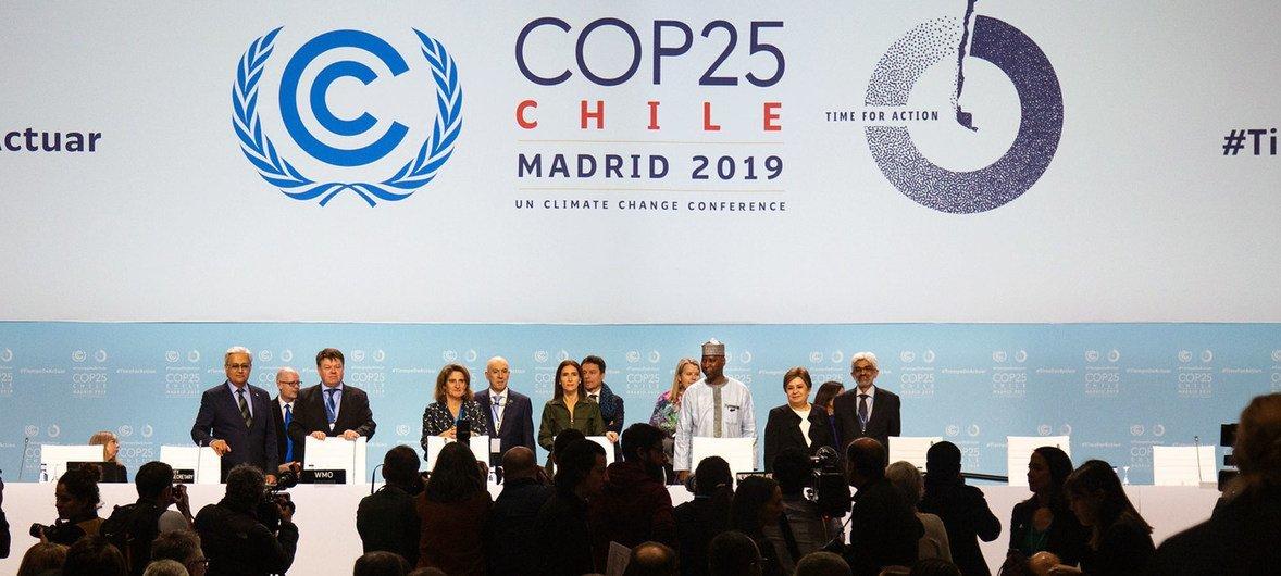 Церемония официального открытия Конференции ООН по климату. Мадрид, Испания