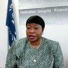 La procureure de la Cour pénale internationale, Fatou Bensouda, informe les membres du Conseil de sécurité des Nations Unies sur le Soudan.