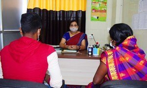 UNFPA trains health care workers and staff of one-stop centres on crisis counselling and other services.