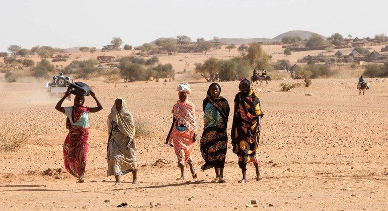 苏丹西达尔富尔爆发大规模流血冲突联合国秘书长深表关切