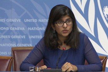 Porta-voz da alta comissária para os Direitos Humanos, Ravina Shamdasani