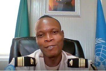 Major Akandal de Souza est le Commandant du contingent béninois au Mali à la MINUSMA. Il a sous ses ordres 250 soldats de la paix
