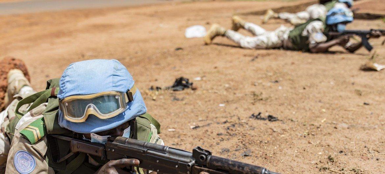 Les exercices sont importants pour le contingent béninois au sein de la MINUSMA. Ils permettent aux Casques bleus de bien réagir aux types d'incidents auxquels ils peuvent être confrontés au Mali.