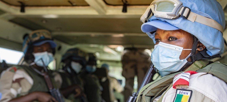 Le contingent Béninois à la MINUSMA, la mission compte 250 personnels dont 25 femmes
