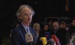 L'Envoyé spécial de l'ONU pour la Syrie, Geir O. Pedersen (photo d'archives).