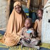 An internally displaced family in Bakassi Camp, Borno State, Nigeria.