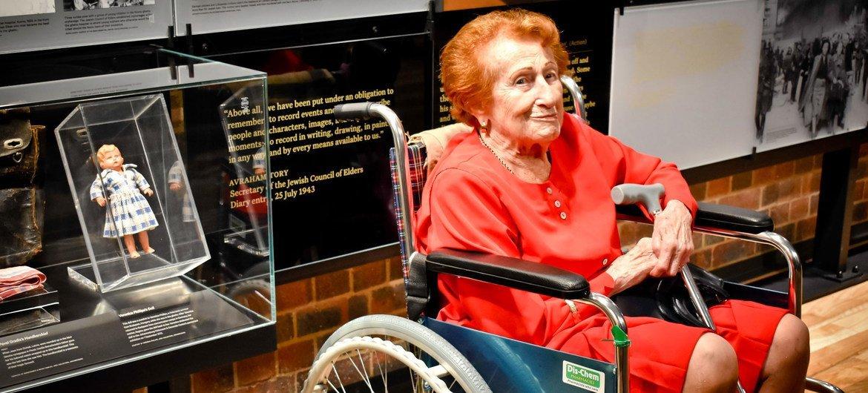 犹太大屠杀幸存者维罗妮卡·菲利普斯