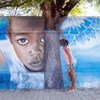 UNICEF Madagascar strengthens the promotion of children's rights through graffiti.