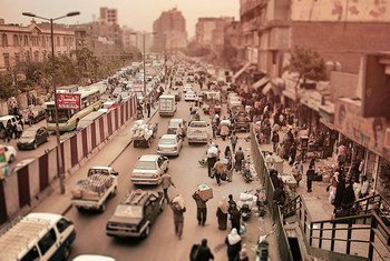 Daily life in Cairo, Egypt.
