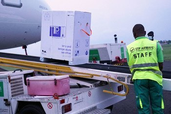 Vacinas contra Covid-19 chegando a São Tomé através da iniciativa Covax