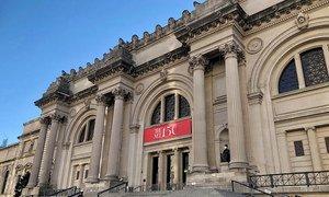 新冠疫情期间空无一人的纽约大都会博物馆