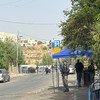 مشهد من حي الشيخ جراح في القدس الشرقية حيث يتعرض فلسطينيون لخطر الإجلاء.