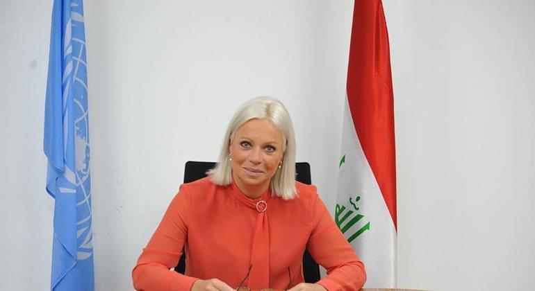 جينين-هينيس بلاسخارت، الممثلة الخاصة للأمين العام في بعثة الأمم المتحدة لمساعدة العراق (يونامي)