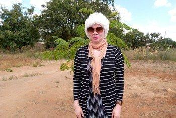 Maccelina Chuwa, mkazi wa Dodoma nchini Tanzania wakati wa mahojiano na UN News Kiswahili.