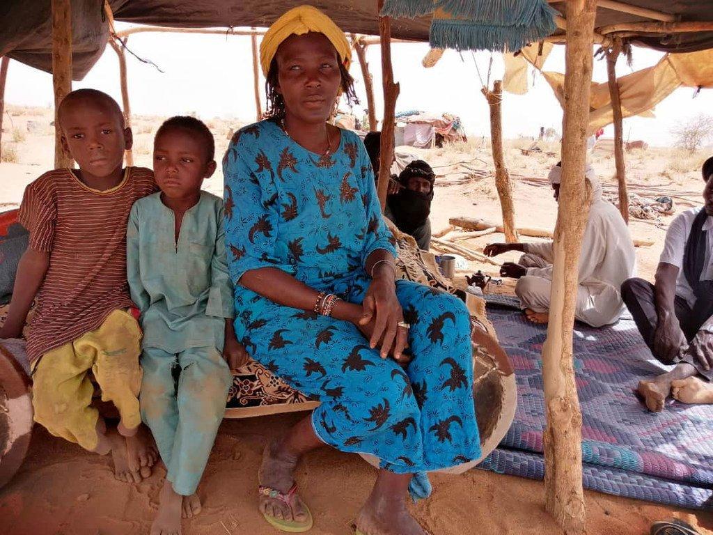 Wakimbizi wa Mali wanakimbilia Telemsès, Niger, baada ya vurugu kuzidi katika mkoa wa Sahel.