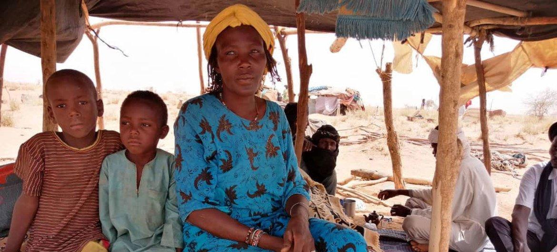 Les réfugiés maliens cherchent refuge à Télemsès, au Niger, après que la violence s'est intensifiée dans la région du Sahel.