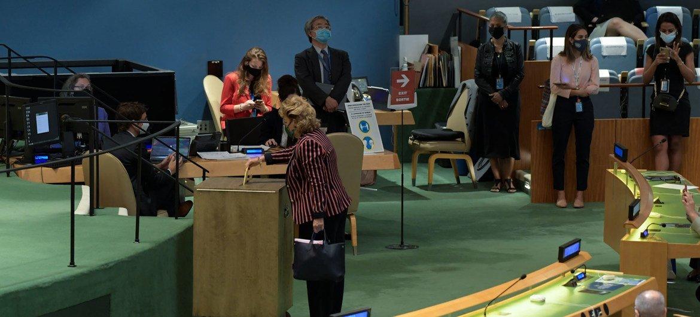 सुरक्षा परिषद में 2022-2023 कार्यकाल के लिये यूएन महासभा ने पाँच नए अस्थाई सदस्यों को चुना है.