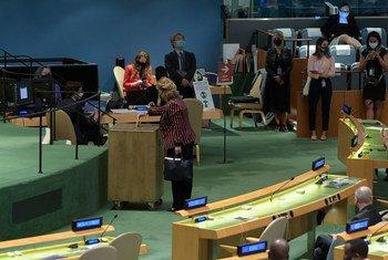 五个国家被联合国大会选为2022-2023年任期的联合国安全理事会非常任理事国。