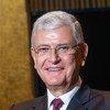 الرئيس المنتخب للدورة الخامسة والسبعين للجمعية العامة، فولكان بوزكير.