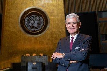 联合国大会第75届会议主席沃尔坎·博兹克尔
